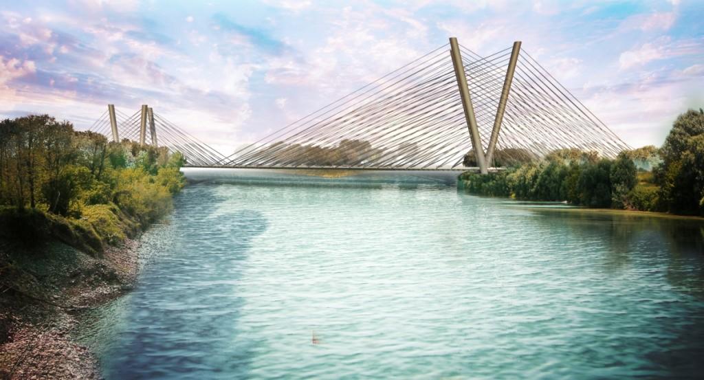 Rendering di un ponte